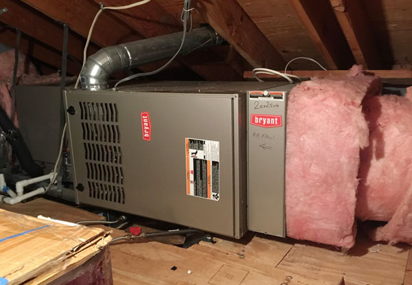 Residential Heating Furnace Installation