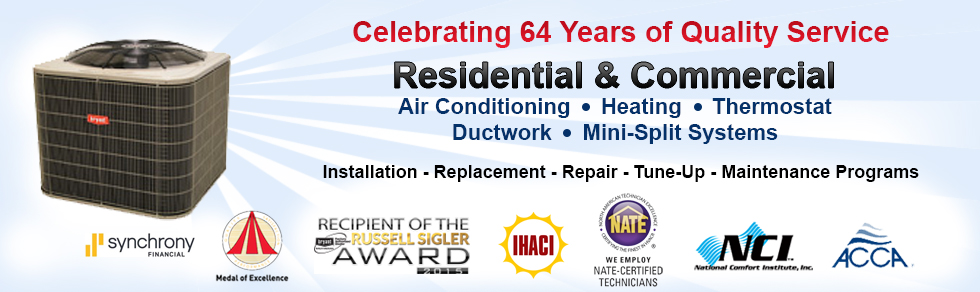 Commercial, Residential HVAC Services