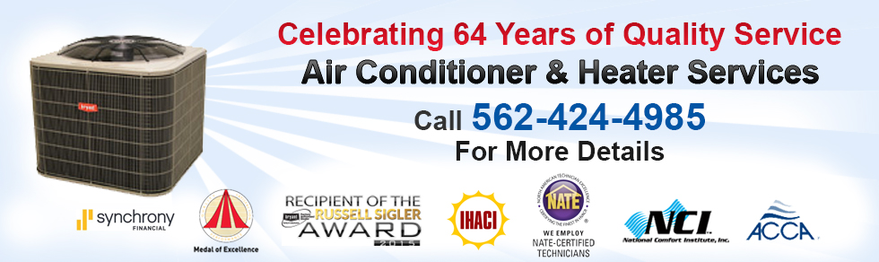 Heating Company Air Conditioning Company Signal Hill Ca